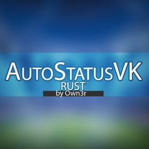 AutoStatus в группу VK