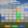 Graphic wipe calendar [BETA]